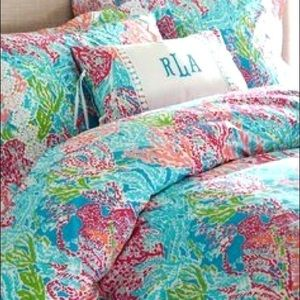 Lilly Pulitzer Duvet (Full/Queen)